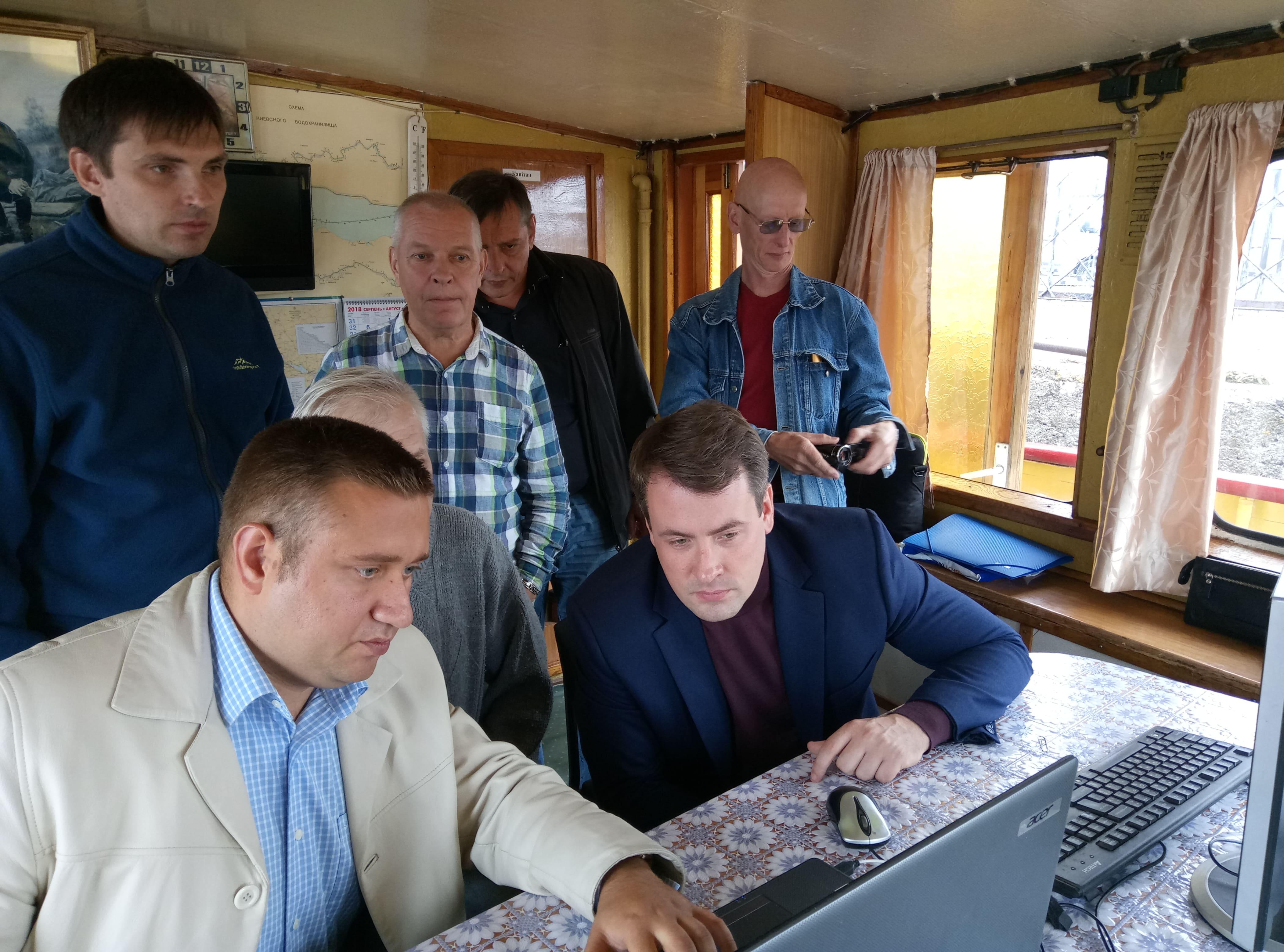 Держгідрографія спільно з НАН України презентували перші результати  науково-технічної Програми