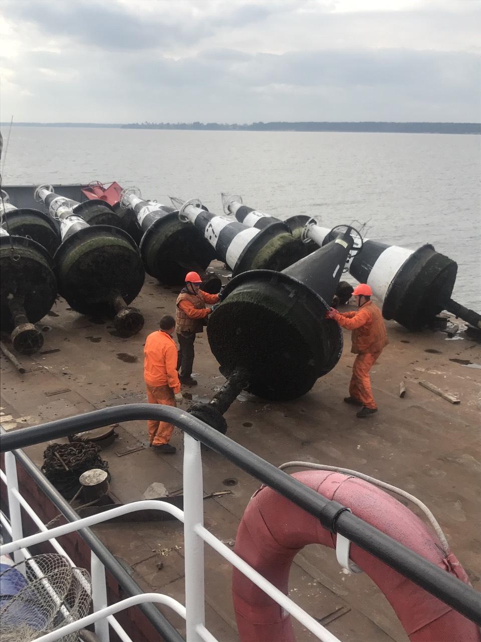 Держгідрографія: розпочата підготовка до навігації 2019 року на р.Дніпро