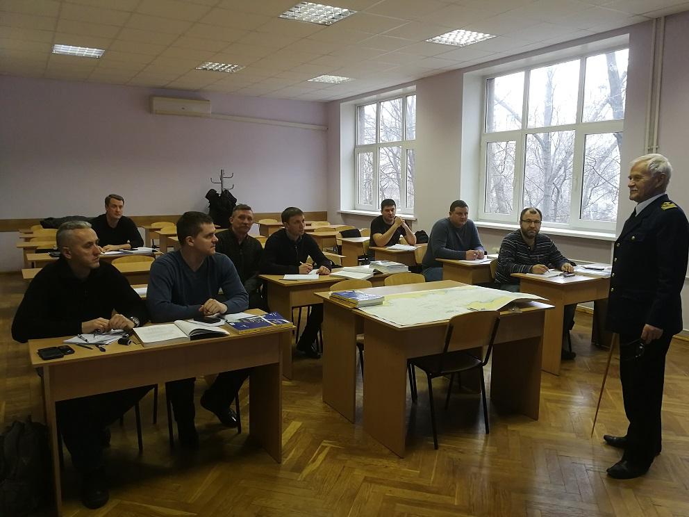 Держгідрографія: співробітники установи закінчили освітній курс згідно з міжнародними стандартами МАМС