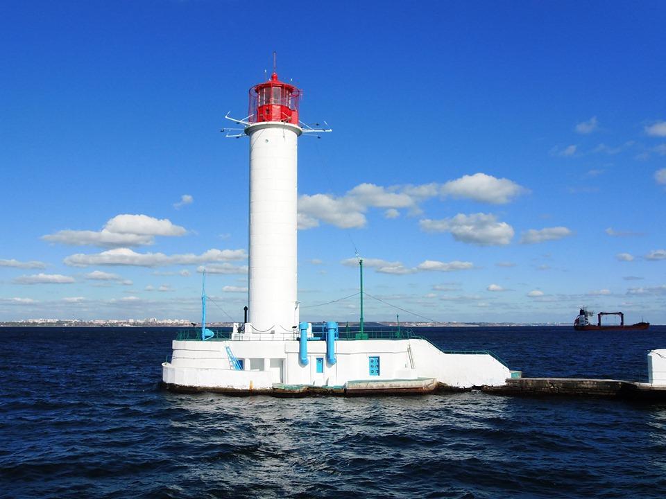 Держгідрографія оновила та модернізувала Воронцовський маяк в Одесі