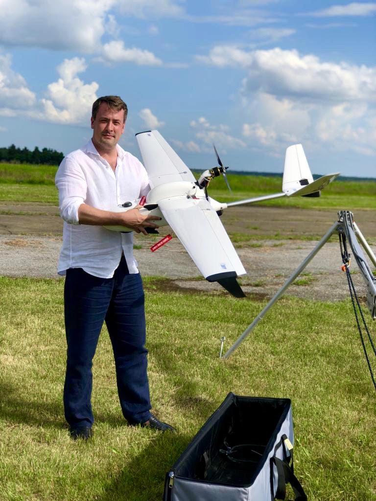 Держгідрографія впроваджує інноваційні технології в галузі: тестування безпілотного авіаційного комплексу