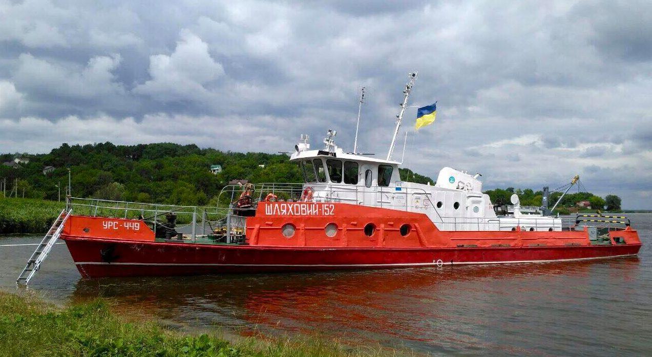 Держгідрографія відремонтувала свої судна «Шляховий-151» та «Шляховий-152»
