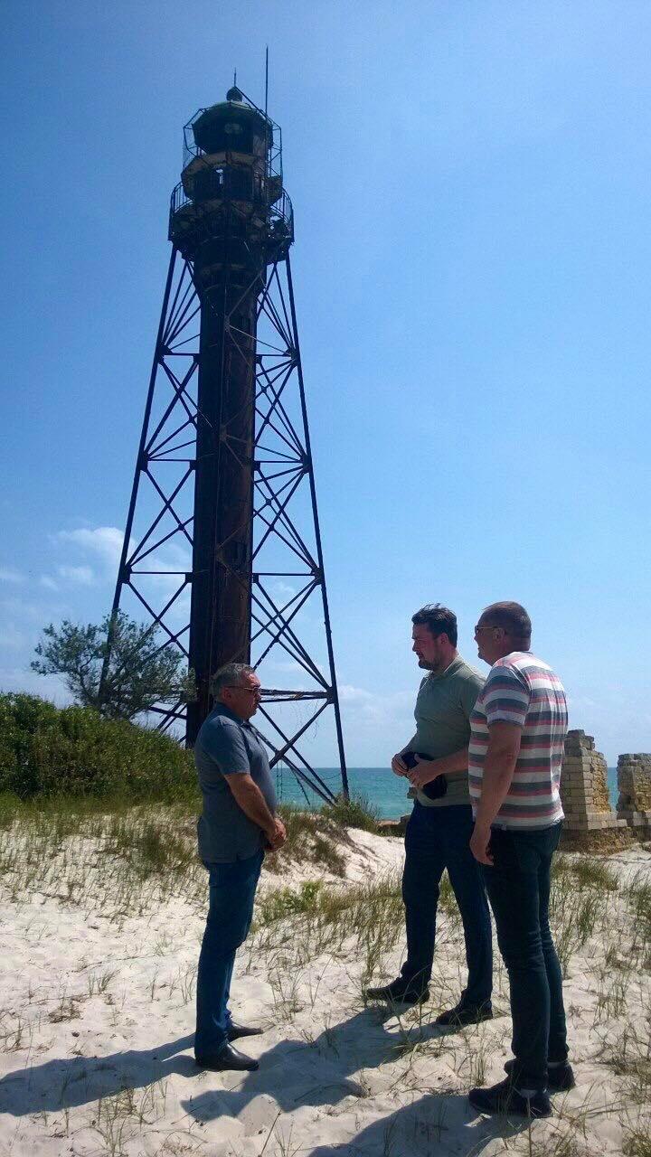 До уваги представників ЗМІ: інформація щодо «маяка Ейфеля» на острові Джарилгач