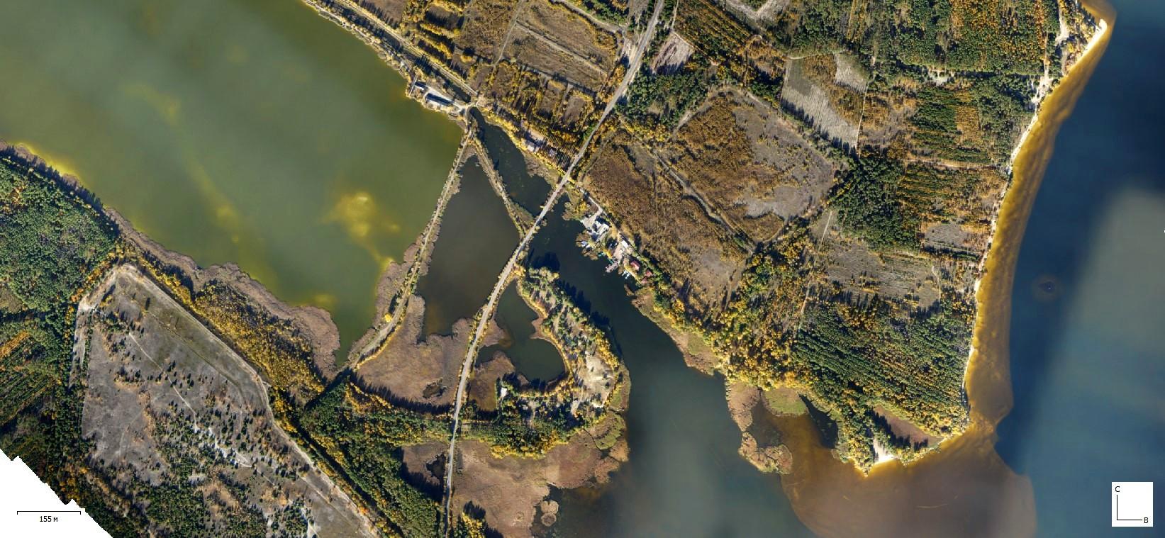 Держгідрографія провела ДЗЗ берегової лінії Київського водосховища