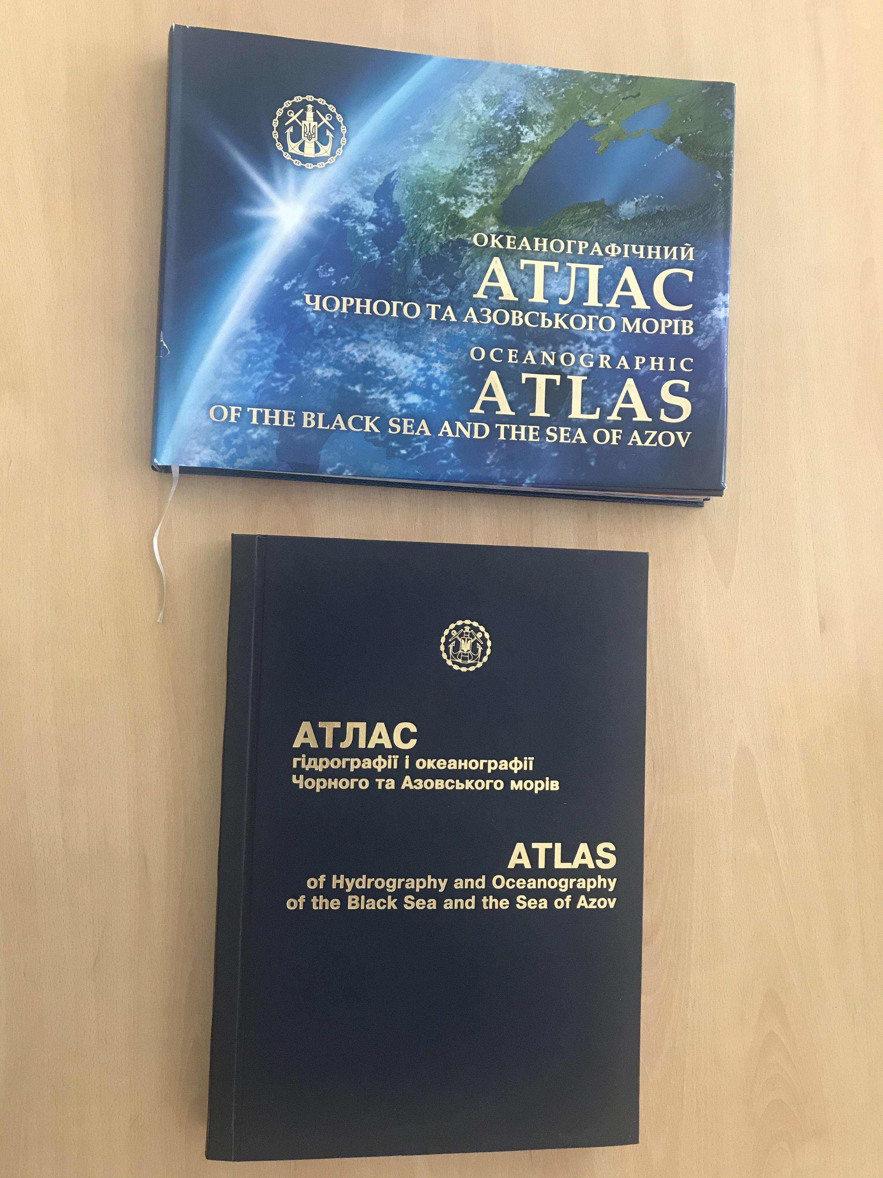 Держгідрографія анонсує вихід Атласу гідрографії і океанографії Чорного та Азовського морів