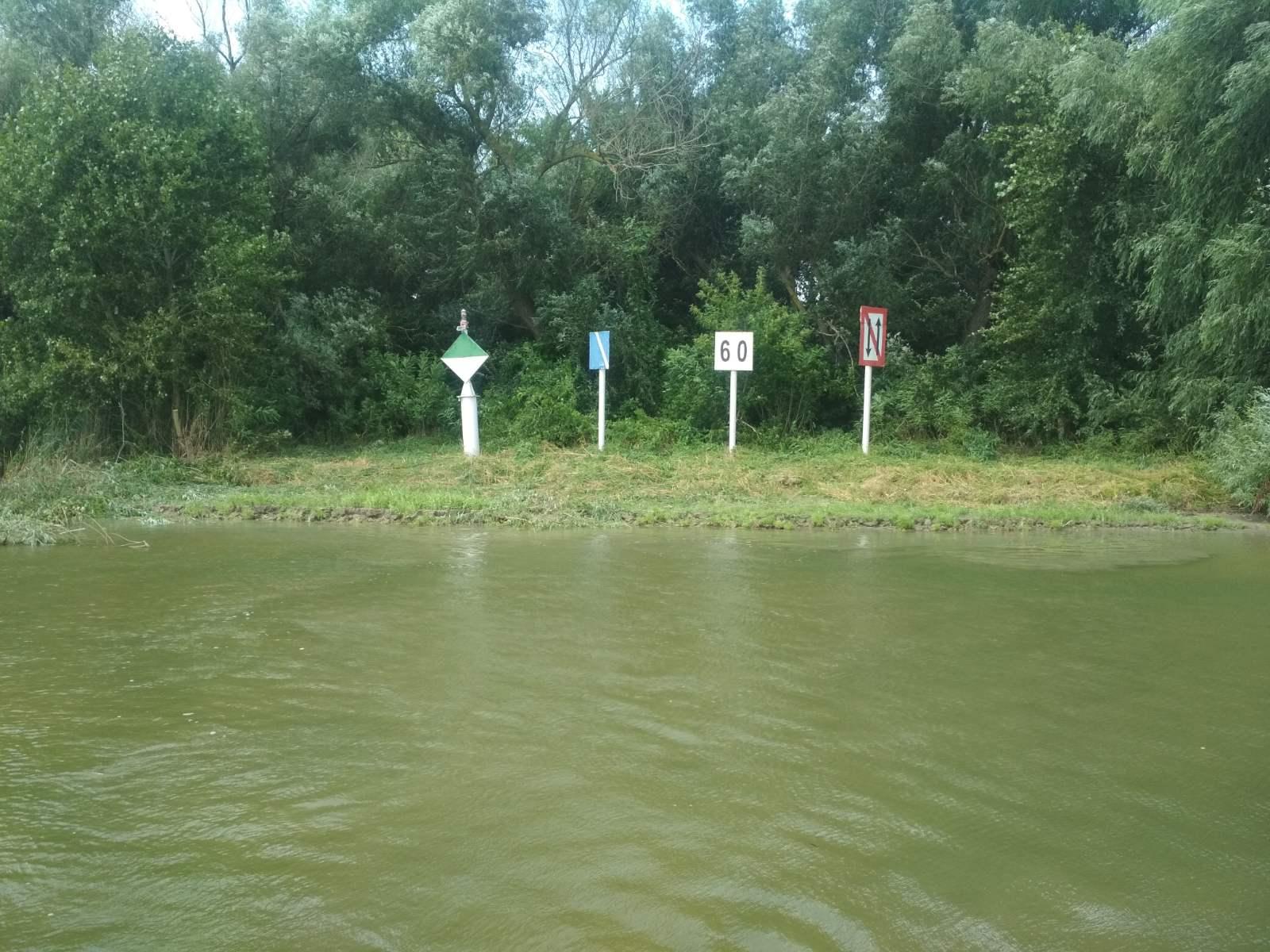 Очищення берегових навігаційних знаків